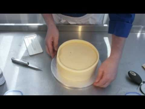 Marzipanning for Royal Icing Video Demonstration