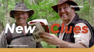 Expedition Unknown With Josh Gates   Promo   Tonight 9 PM
