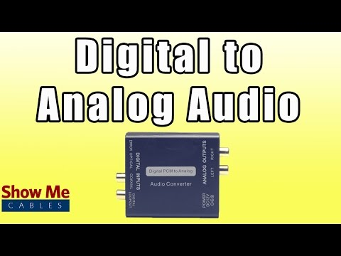 Digital Coax and Optical Audio to RCA Converter - Save Old Receiver by Using Audio Converter