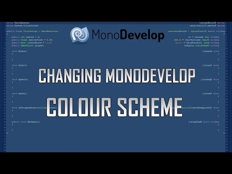 Changing MonoDevelop Colour / Style / Theme