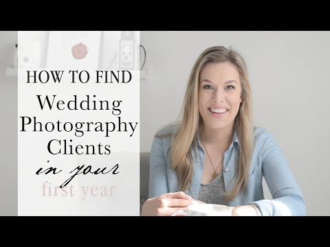 How to Find Wedding Photography Clients in Your First Year