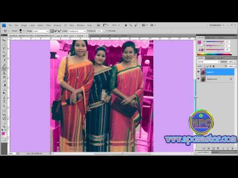 28  How to Use Color replacement  Tool in Adobe Photoshop CS4 Sinhala HD