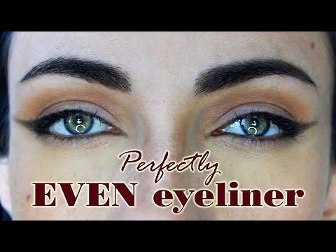 How To: Perfectly EVEN Eyeliner| MakeupAndrtFreak
