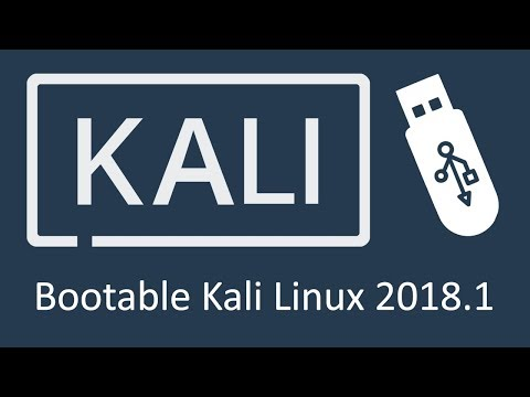 Rufus: How to Create Kali Linux 2018 Bootable/Live USB Flash Drive