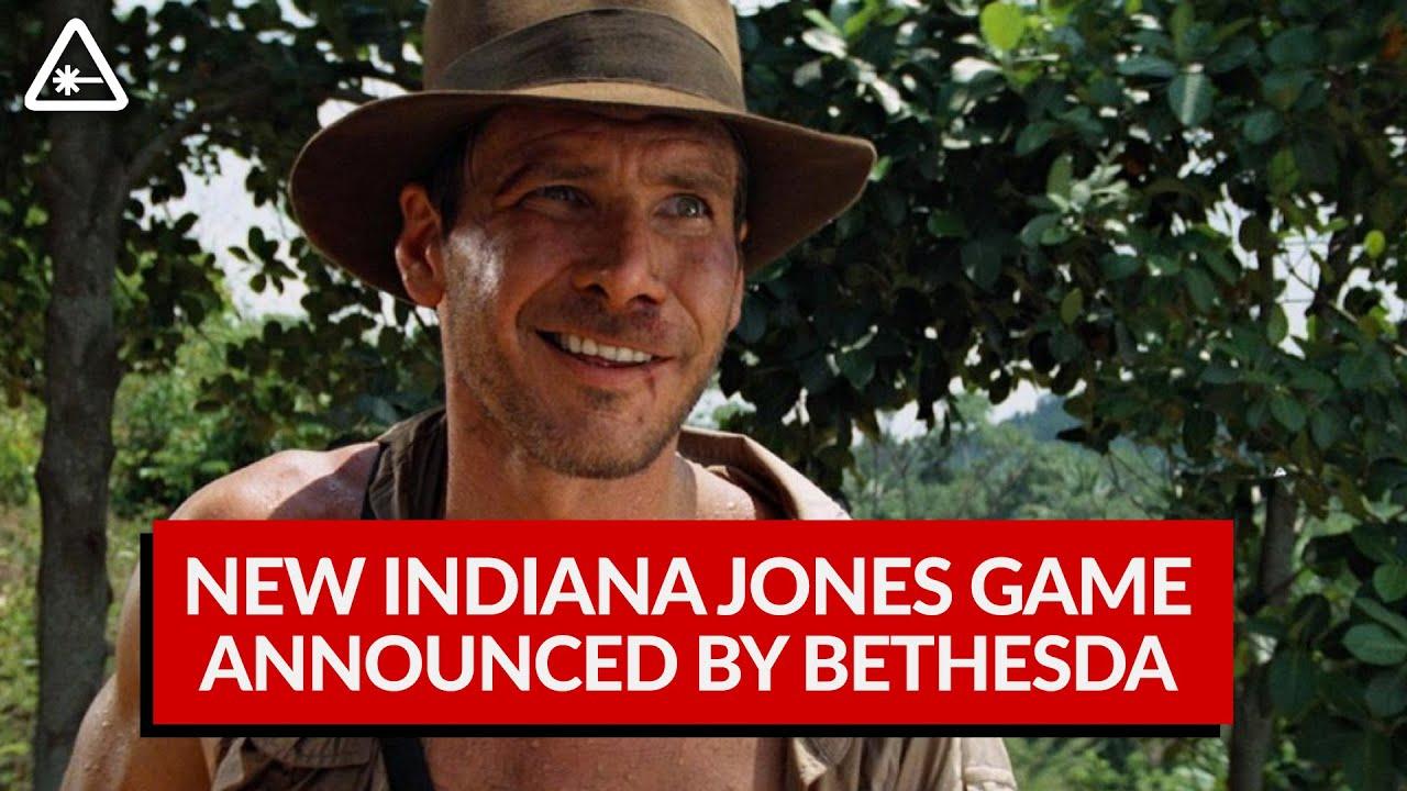 Indiana Jones Game Coming From Bethesda and Wolfenstein Devs (Nerdist News w/ Dan Casey)