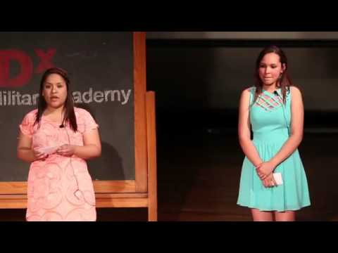 My Family's Addiction.   Kaitlyn Pumphrey & Zaira Ramos   TEDxCarverMilitaryAcademy