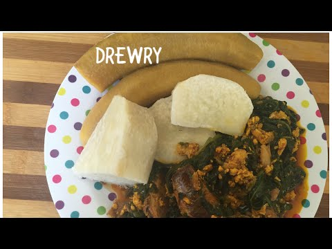 HOW TO PREPARE GHANA SPINACH STEW NKONTOMIRE