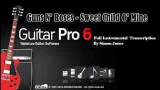 sweet child o mine gp5 tab