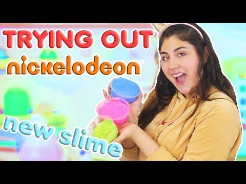 TESTING NICKELODEON GLUE SLIMES ~ new glues for slime? Slimeatory #367