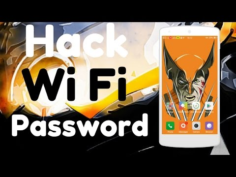 [Hindi] How to Hack Neighbours Wi Fi Password in your any Android phone | No root required (100%)