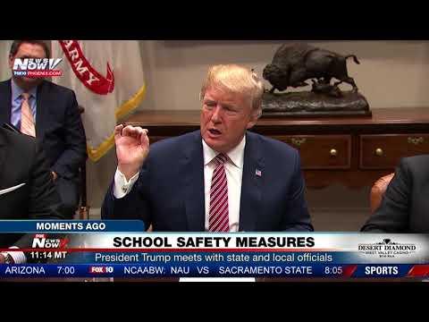 PROTECTING SCHOOLS: President Trump Calls For Concealed Guns For Volunteer Teachers (FNN)
