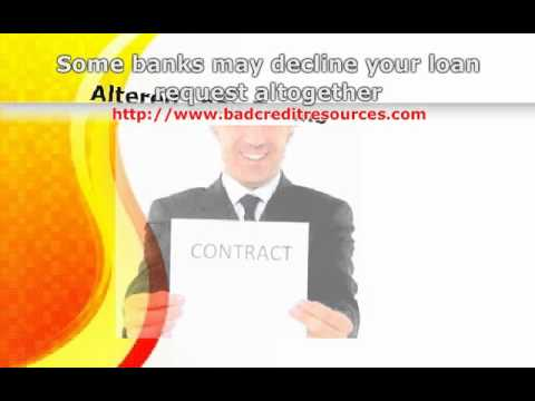 How to Get a Loan With Poor Credit