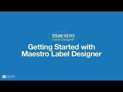 Getting Started with Maestro Label Designer