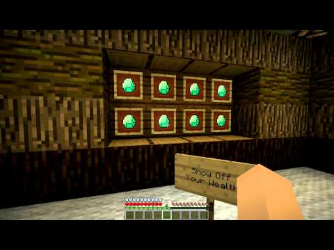 Item Frames in Minecraft