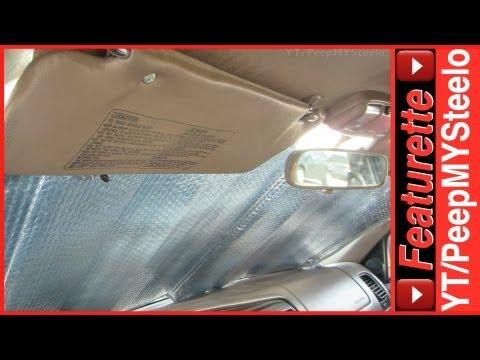 Best Car Windshield Sun Shade Blocker as Cheap Under Visor Sunscreen Shades For Auto & SUV Windows
