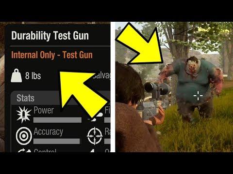 State of Decay 2 | SECRET DEVELOPER TEST GUN!