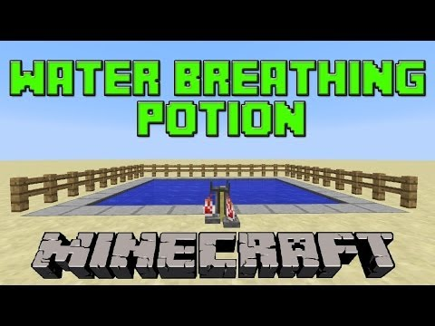 How To Brew The Water Breathing Potion In Minecraft   Update 1.7.2