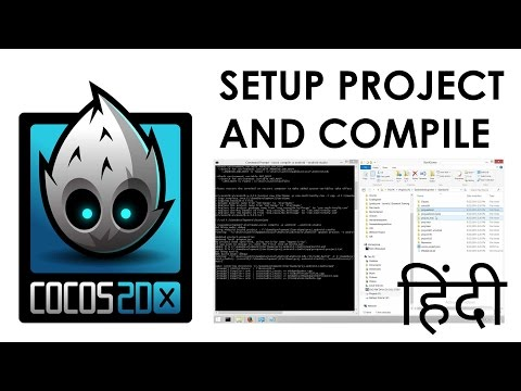 Setup cocos2d-x v3.13 Project and Compile for android studio in windows pc | in hindi