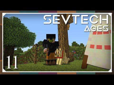 Sevtech: Ages   Black Quartz AIOT & Wild Dog Pelt Boots!   E11 (SevTech Ages Modpack)