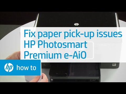 Fixing Paper Pick-Up Issues - HP Photosmart Premium e-All-in-One Printer (C310a)