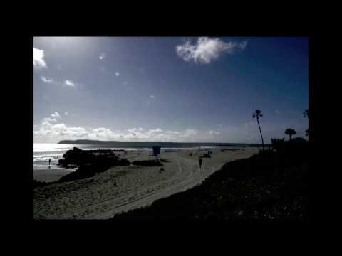 Timelapse:  San Diego - Amtrak Surfliner, Balboa Park, Hotel Del Coronado