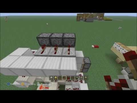 Things to build - Minecraft Xbox 360 Edition: 3x3 Spiraling Piston Door