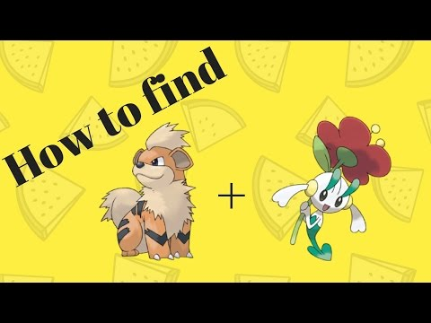 How to find Growlithe and Floette | Pokemon Brick Bronze