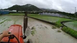 Panasonicウェアラブルカメラhx-a1hで農作業を撮影【トラクターしろかき編】