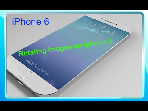 How to Rotate Picture on iPhone 6 and iPhone 6s