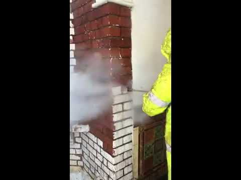 Masonry paint removal, paint stripping