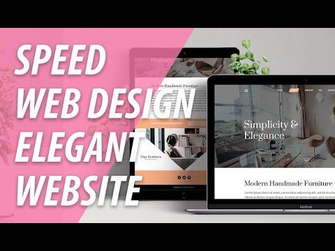 Web Design Speed Art Elegant Modern Website | XO PIXEL