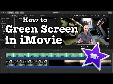 Green Screen in iMovie tutorial (Updated - 2018)