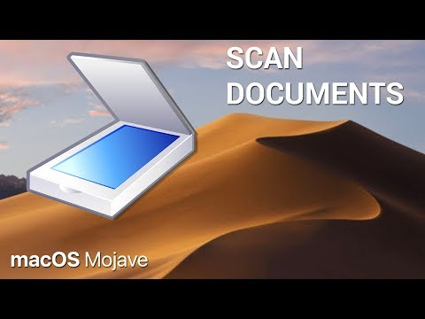 How to quickly scan documents with macOS Mojave and an iPhone