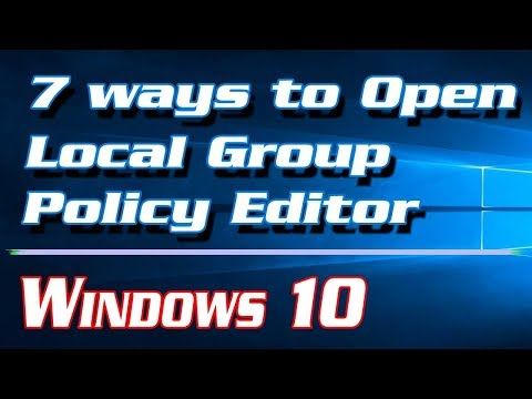 7 ways to Open Local Group Policy Editor (gpedit) in Windows 10 | Definite Solutions