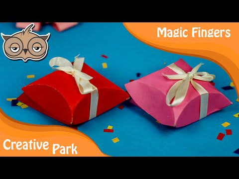 DIY Crafts - How To Make An Easy Origami Paper [Gift Box]