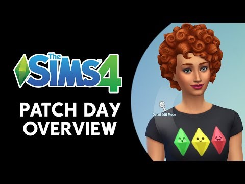 The Sims 4 Patch Day Video Overview! (NEW CONTENT)