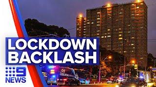 Coronavirus: Locked towers residents urged to get tested   9 News Australia