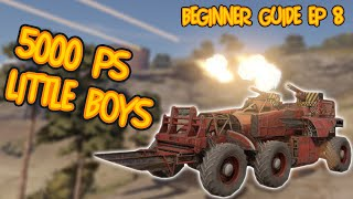 BUDGET GOBLIN BUILD FOR CLAN WARS - Crossout gameplay