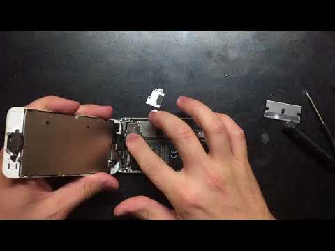 How to replace iPhone 5 battery, dead/swollen/bloated battery fix.