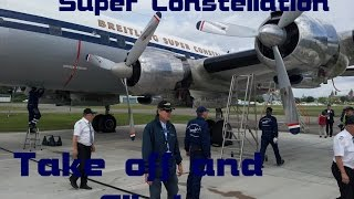 Super Constellation Take Off from Basel
