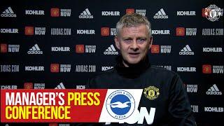 Manager's Press Conference   Brighton v Manchester United   Ole Gunnar Solskjaer