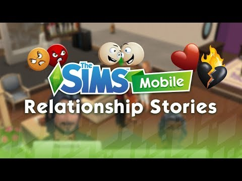 The Sims Mobile: Relationship Stories Tutorial