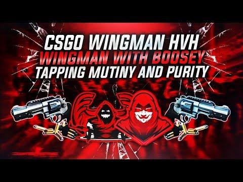 CSGO - WINGMAN WITH SKEET FT. BOOSEY- ROAD TO GLOBAL [RAGE] #1