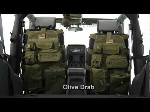 Smitttybilt - GEAR Jeep Seat Covers - Jeep Interior