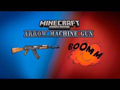 MINECRAFT ARROW MACHINE GUN