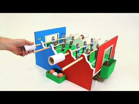 How To Make a Simple Football Table Game With Electronic Scorekeeping