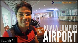 KUALA LUMPUR AIRPORT GUIDE : KLIA 2  (Immigration, Customs, Tourist Sim, Currency Exchange, Etc.)