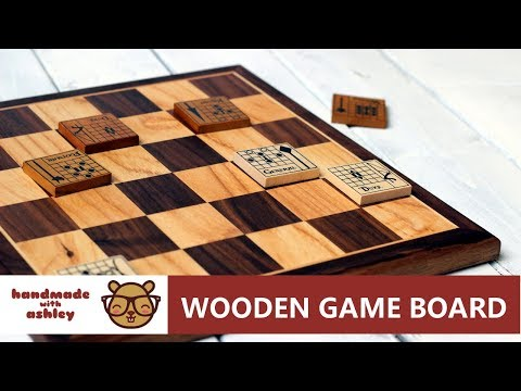 Make a Wooden Game Board for The Duke (Catalyst Game Labs)