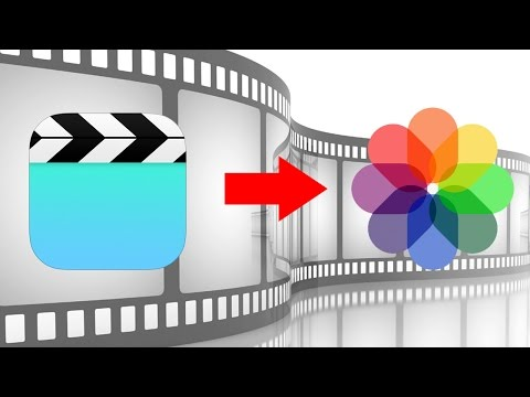 How to Transfer Videos from iPhone Video Application to Camera Roll