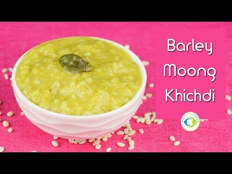 Barley Moong Khichdi | 8 months Baby Food Recipe